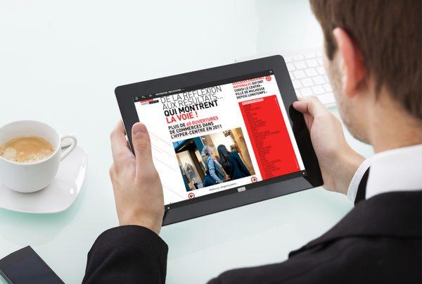 Présentation commerciale tablettes tactiles