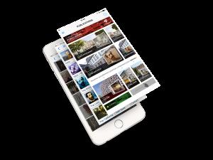 Iphone magazine digital ColmarMag