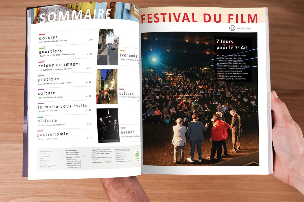 LePointColmarien catalogue, magazine