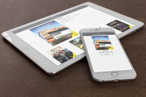 Magazine dynamique sur tablettes et smartphones