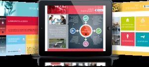 CCI Vendée présentation commerciale sur tablettes tactiles