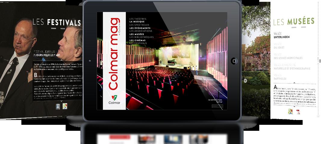 Magazine et catalogue interactif et dynamique